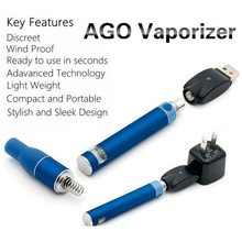2015 welcomed e-cig AGO G5 Vaporizer best selling dry herb atomizer/vaporizer Ago g5