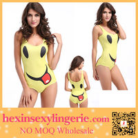 2014 sexy one piece young ladies online wholesale swimwear