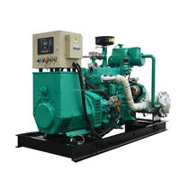 50kW Deutz engine CHP biomass generator