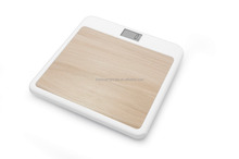 Wooden body weight scale