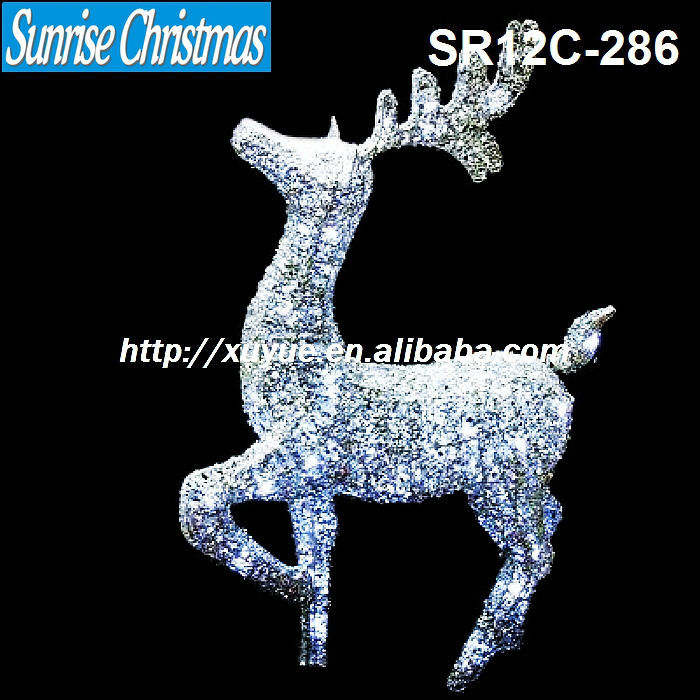 [2013 NEW] Christmas led light decoration/ LED Christmas decoration/Christmas reindeer (MOQ:200PC)