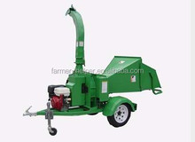 13hp gasoline engine small wood chipper/wood chipping shredder/6 inch small industrial diesel engine wood chipper for sale