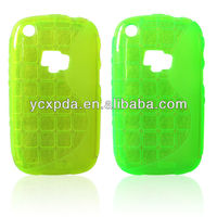 colorful and bumper square pattern TPU case for blackberry 9220&9320&9310