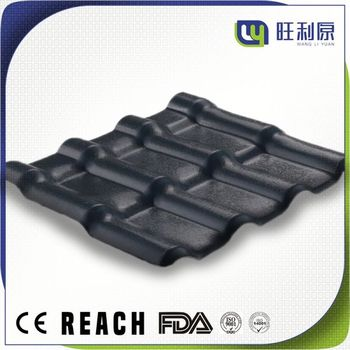 Plastic popular european style slate stone roof tiles for shale roof