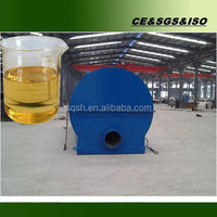 90% oil yield waste engine oil recycling machine