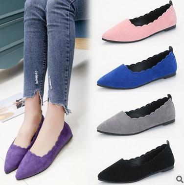 Manufacture women new flat shoes elegant design fashion casual lady shoes