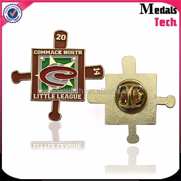 Gold plated soft enamel custom fashion dance lapel pins for souvenir
