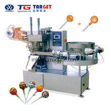 Hot Sale Automatic Ball lollipop bunch wrapping machine candy packing machine