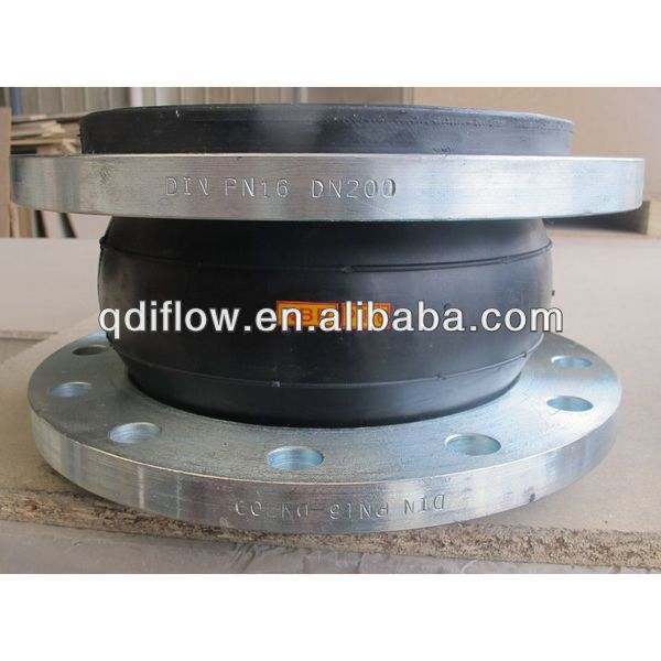 Flexible rubber expansion joints in EPDM, NBR, NEOPRENE