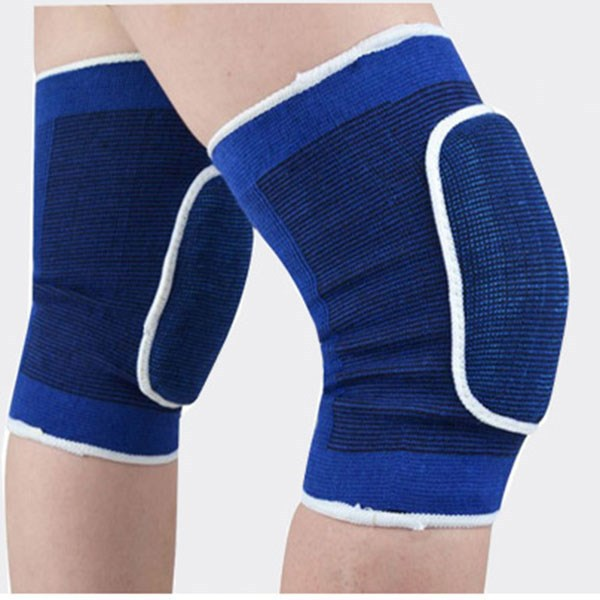 Ebay China Website Universal Sports Safety Spandex Elastic Knee Pads Support Outdoor Sports Hiking Knee Brace