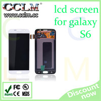 For samsung galaxy s6 mobile phone lcd screen, lcd displays full assembly for samsung s6