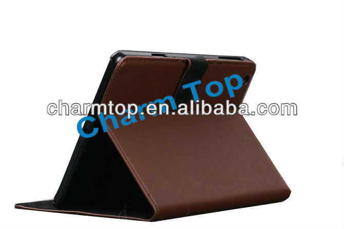 High Quality PU Leather Stand Case For iPad Mini