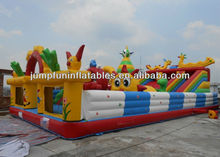 children paly inflatable amusement park,inflatable jumping funcity