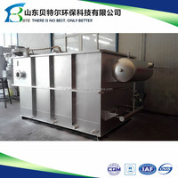 10m3/hour Small Dissolved Air Flotation Machine, 80% removal rate of suspended solids