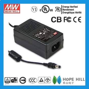 Original MEAN WELL 25W AC-DC High Reliability Industrial Adaptor GST25B15-P1J