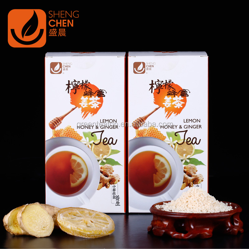 Chinese natural healthy ginger tea with honey/ lemon 2017 most popular Super Instant Lemon GingerTea