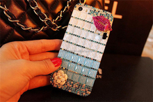 factory price hot rhinestone crystal hard mobile phone accessories bright pc case cover for galaxy note for samsung j7