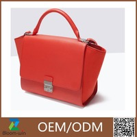 Latest style fancy brand handbag high quality lady tote bags