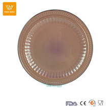 ceramic dinner plate chinese factory/watermelon ceramic plate/color glazed ceramic stoneware dinner plate
