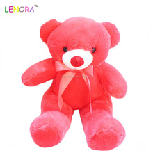 80cm Yiwu lenora 100% plush velboa factory wholesale kids funny toy sleeping bears
