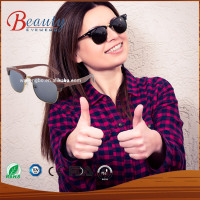 2016 natural wood Sunglasses,bamboo and wooden glasses,wood frame sunglasses