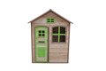 Wooden kids' playhouse