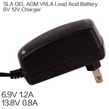 Everpower 12v 7ah battery charger SLA AGM float charge