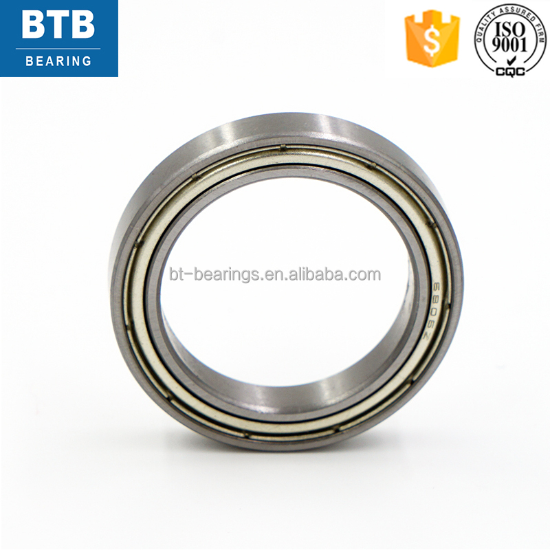 Chrome steel deep groove ball bearings 6806-ZZ bearings for mountain bikes