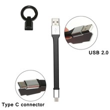 Mobile Phone Mini Portable Keychain USB Charging Type-C Cable