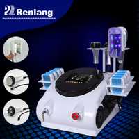 Portable Cryo lipo laser slimming/multi-function cavitation RF slimming machine