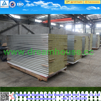 China low-cost rockwool sandwich panel used for walls