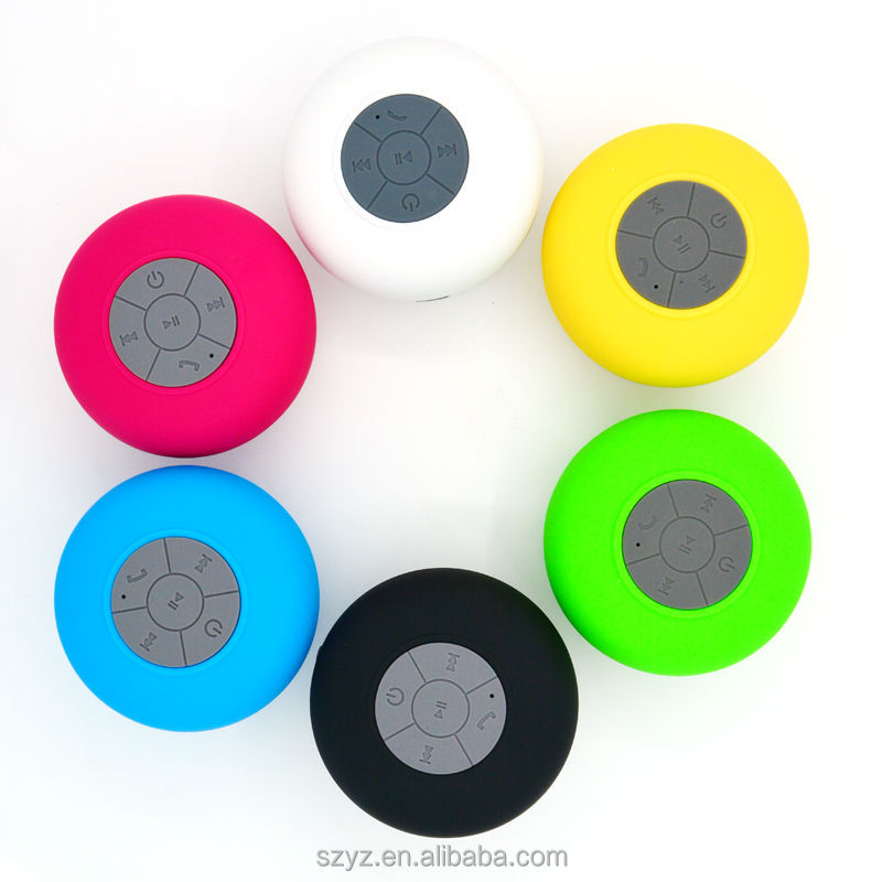 IPX4 Waterproof suction cup Bluetooth speaker Sports Bluetooth Speaker BTS06