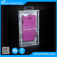 2014 Custom Design plastic packaging box for cell phone case