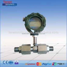 "AC DC power supply flowmeter high accuracy sulfur dioxide SO2 mass flow meter NPT 1"" turbine air sensor"