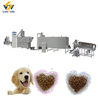 Customized Pet Dog Food Machine Extruders