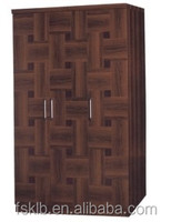 Factory Price Walnut Wood Almirah Designs in Bedroom