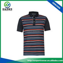 Multicolor three button breathable and eco-friendly men's shirt
