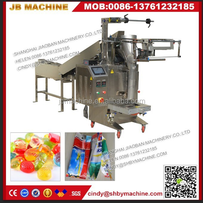 JB-300LD shrimp/fish ball pouch automatic chain bucket type packing machine Shanghai