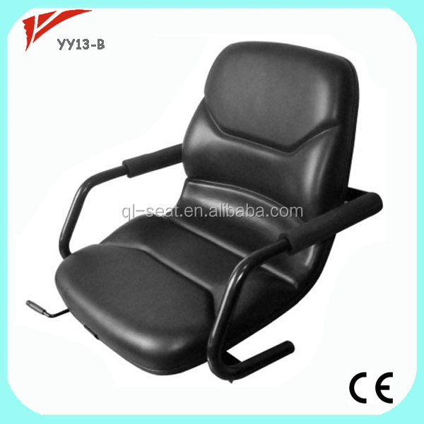 Yellow EU Norms Luxury Construction Used Vibration Plate Machine Seat for Promotion