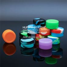 Silicone Storage Container Jar,Smoke Box For Sticky Wax Product Container Storage,Oil Silicone Container