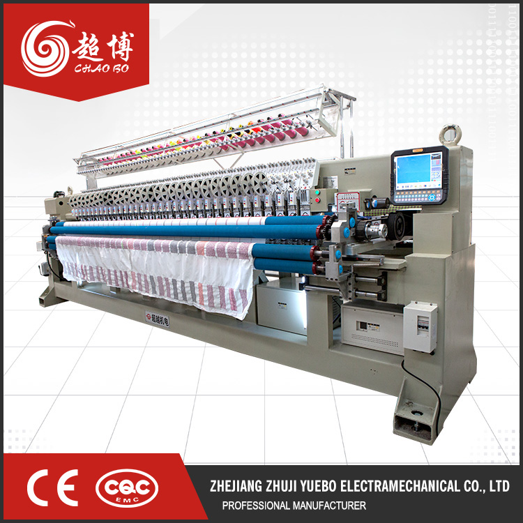 Certificated industrial computerized embroidery quilting machine