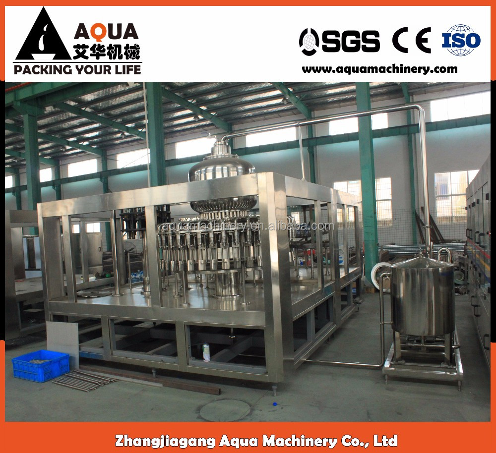 Mineral water making machinery ice tea drink manufacturing machine price