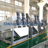 Palm Oil Sludge Dewatering Multi-disc Screw Press