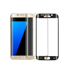 Best Quality 3D Curved Front Film Full Cover Screen Protector Tempered Glass For Samsung Galaxy S7 Edge