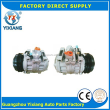 Bus Cooler Parts 447220-0394 155MM 5PK Clutch 10PA30C Bus AC Compressor For Toyota Coaster