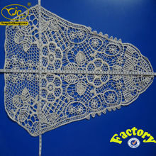 Chemical great quality crochet cotton lace ribbon for summer garment