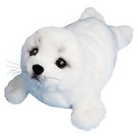 stuffed animal plush seal , soft toy seal plush