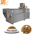Stainless steel double screw dog food processing line