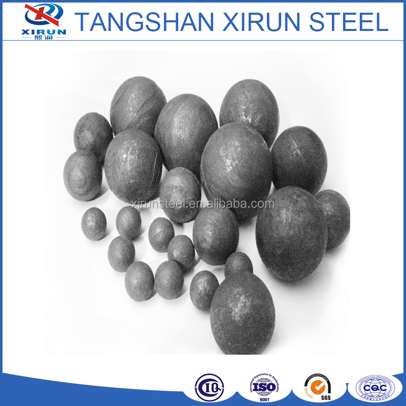 20mm-150mm low chrome cast grinding steel balls with low price