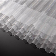 super low price roofing materials corrugated transparent pc sheet for roofing/rooftops